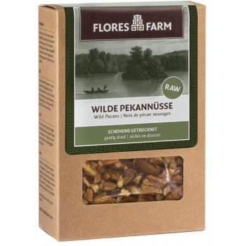 Premium Wild Pecan Nuts Raw Food Quality Organic, 75g