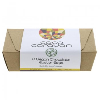 Mini Easter Eggs Chocolate Caramel Vegan Organic, 80g