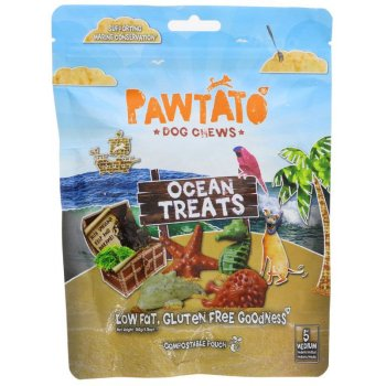 Benevo Veganer Hunde Kauspass Ocean Treats MEDIUM, 140g