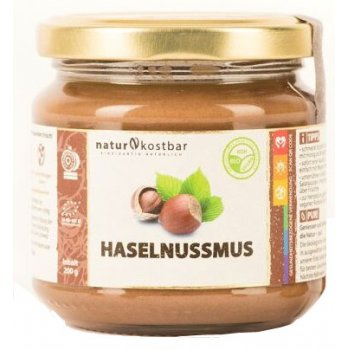 Hazelnut Butter Raw Organic, 200g