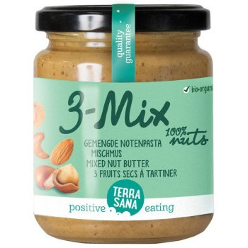 3-Mix Mixed Nut Butter Organic, 250g