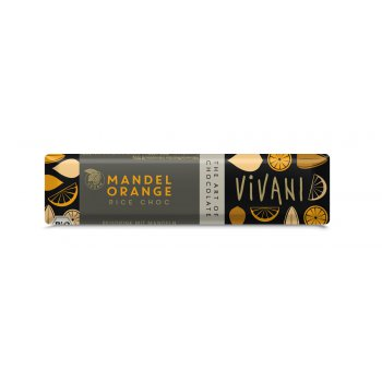 Riegel Vivani Mandel Orange Bio, 35g