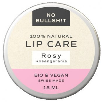 Lippenbalsam Lip Care Rosy No Bullsh!t #plastikfrei, 15ml