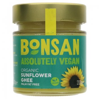 Ghee Sunflower Bonsan Vegan Organic, 200g