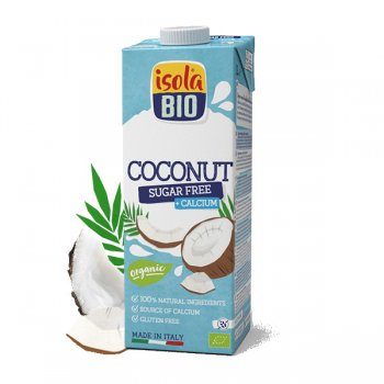 Coconut Milk Drink Calcium, sugar-free, Organic, 1l