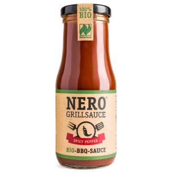 Nero Grillsauce BBQ Spicy Pepper Bio, 250ml