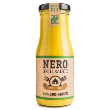 Nero Grillsauce BBQ Sweet Curry Bio, 250ml