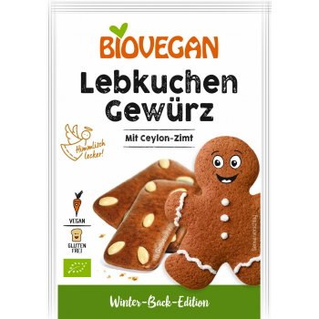 .★ Seasoning for Gingerbread (Lebkuchen) grounded Organic, 15g