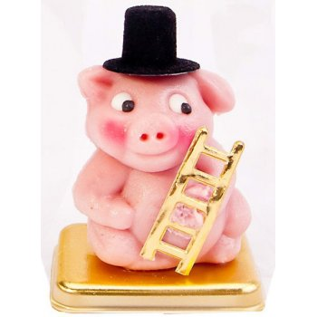 .★ Marzipan Cute Little Lucky Piglet Chimney Sweep Organic, 25g