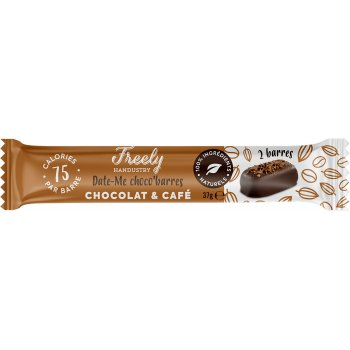 Freely Chocolate Bar Date-Me Chocolate Coffee Organic, 38g