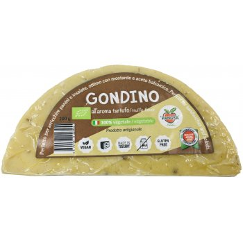 Gondino Arôme de Truffe Alternative Vegan au Fromage Bio, 200g