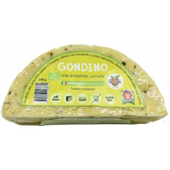 Gondino with Herbs Vegan Alternative to Cheese Organic, 200g