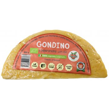 Gondino Piment Alternative Vegan au Fromage Bio, 200g