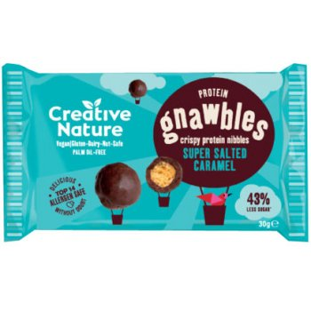 Creative Nature Gnawbles - Salted Caramel, 30g