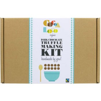 .★ Dark Chocolate Truffle Making Kit Fairtrade Organic, 400g