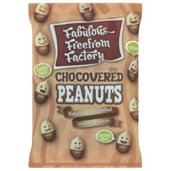 Fabulous Free From Factory Chocovered Peanuts, 65g