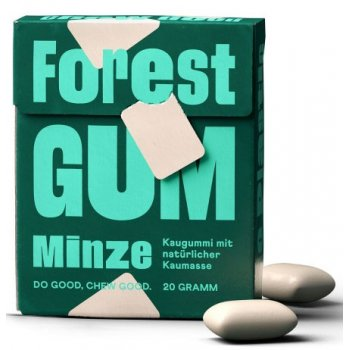 Xylitol Chewing Gum Mint Forest Gum, 20g