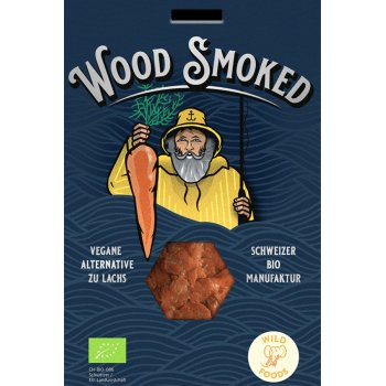 Wood Smoked Vegan Alternative to Salmon Organic, 130g