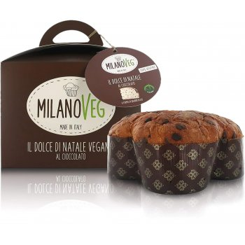 ..★ Vegan Panettone with Chocolate Chunks, 750g
