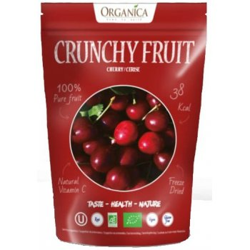 Crunchy Fruity Cherries Freeze Dried RAW Organic, 20g