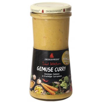 Sauce Soul Kitchen Gemüse Curry Glutenfrei Bio, 420ml