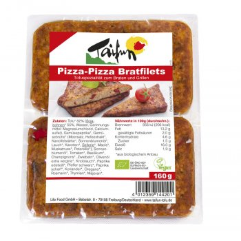 Tofu-Filets Pizza-Pizza Organic, 160g
