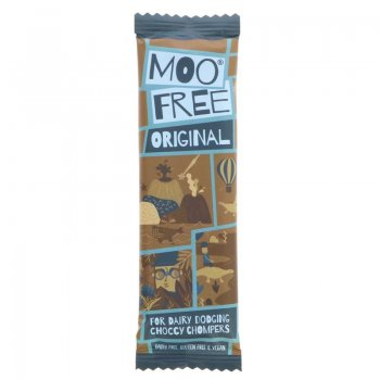 Moo Free Original Chocolate Bar Vegan Gluten Free, 20g