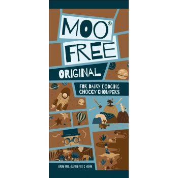 Moo Free Original Chocolate Bar Vegan Gluten Free, 80g