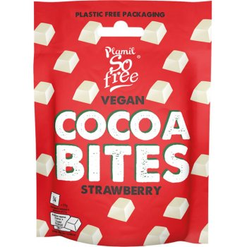 Plamil So Free Cocoa Bites STRAWBERRY, 108g