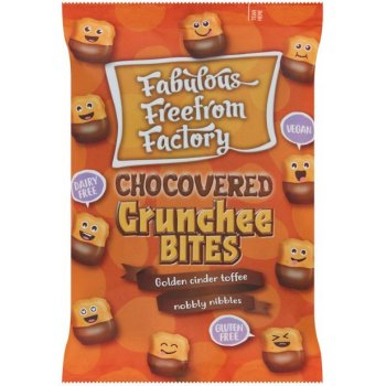 Fabulous Free From Factory Chocovered Crunchee Bites, 65g