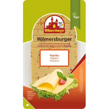 Wilmersburger Slices Red Bell Peppers, 150g