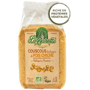 Lazzaretti Couscous Pois chiches Bio, 400g
