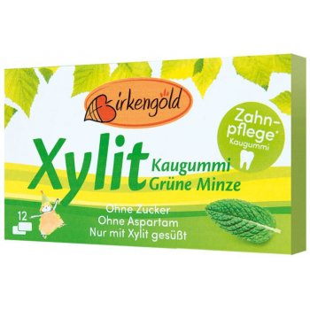 Xylitol Chewing Gum Green Mint, 17g