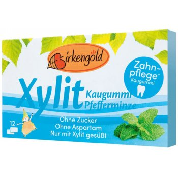 Xylitol Chewing Gum Peppermint, 17g
