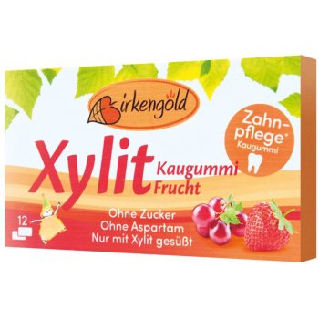 Xylitol Chewing Gum Fruit, 17g