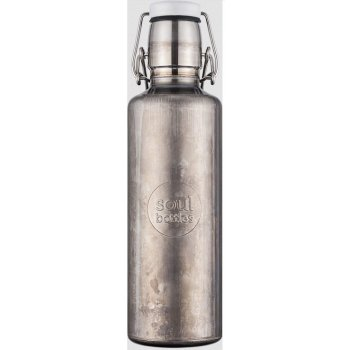 "Soulbottles drinking bottle stainless steel ""Industrial"" 0.6l 1 pcs"