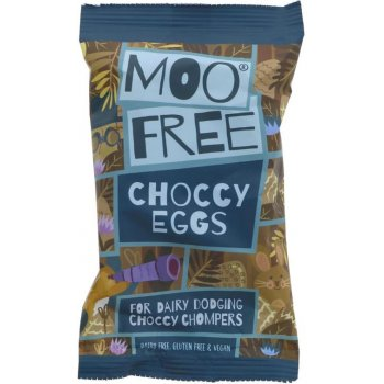 Schokoladen Choccy Mini Eggs Vegane Schoko Alternative zu Eier, 80g