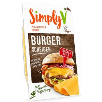 Simply V Tranches Veganne pour Burger, 150g