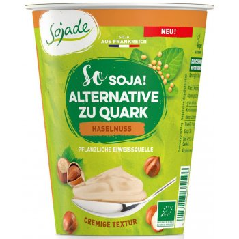 Soy based alternative to Quark / Curd Cheese HAZELNUTS Organic, 400g