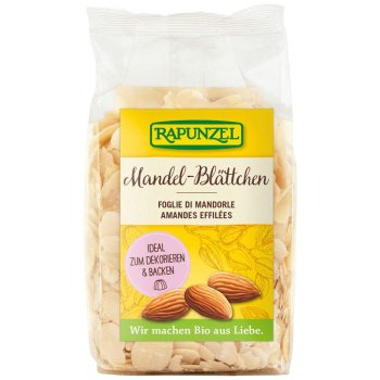 Almonds Flaked Organic, 100g