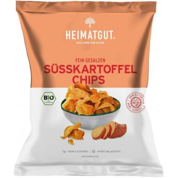 Chips Sweet Potatoe Chips Lightly Salted Organic, 100g