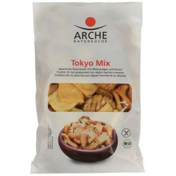 Arche Tokyo Mix Rice Crackers Organic, 80g