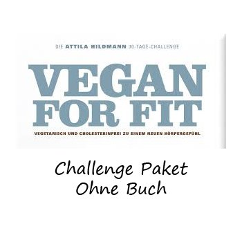 Trial Package: Attila Hildmann Vegan Challenge - Without Book