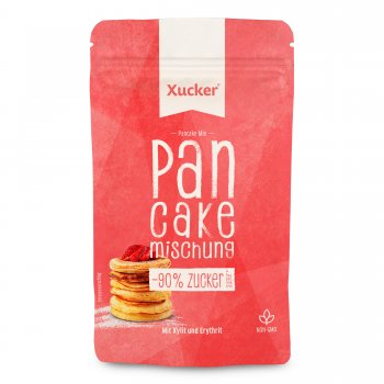 Baking Mix Pancake Mix Low in Sugar (Xylit & Erythrit), 150g