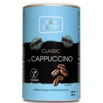 Coffee Instant Cappuccino Classic Low Sugar Caffeine Free, 280g