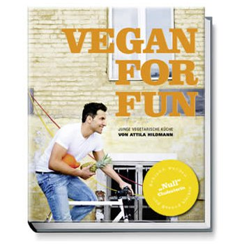 Kochbuch Vegan for fun Attila Hildmann