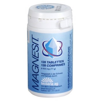 Magnesit (Magnesium, Iron and & zinc), 128 tablets