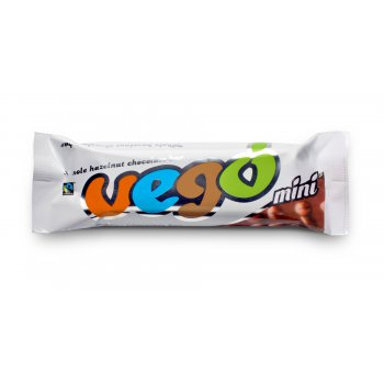 VEGO MINI Bar Chocolate with Hazelnuts Organic, 65g
